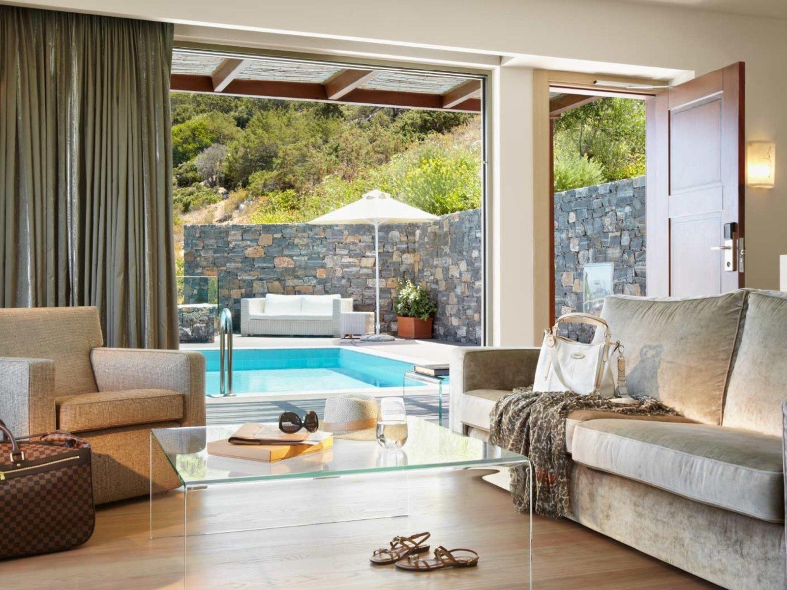 Wohnbeispiel Two Bedroom Wellness Villa SV Private Pool