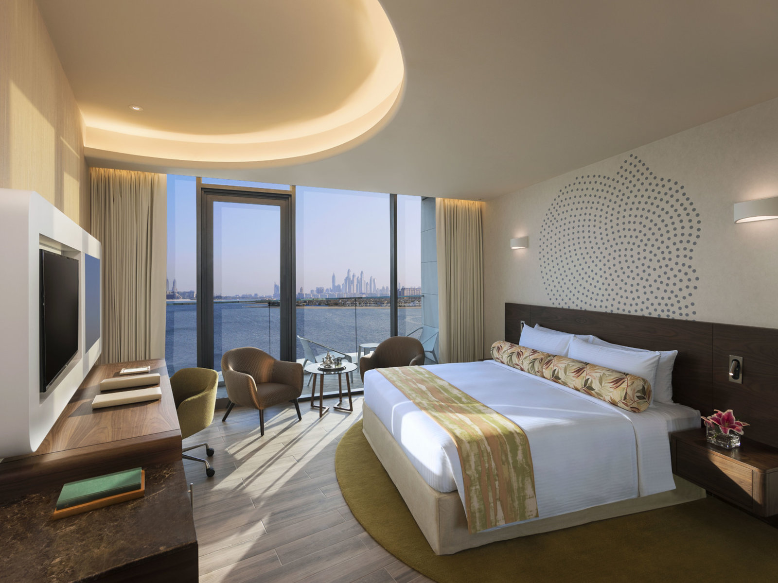 Wohnbeispiel Deluxe Room Palm Jumeirah Sea View