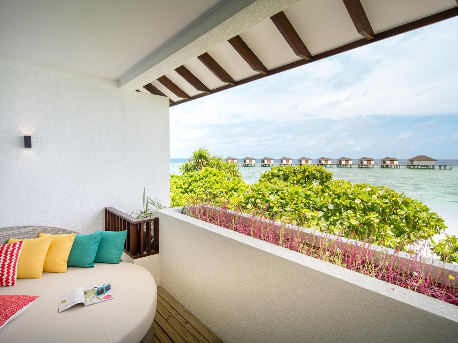 Wohnbeispiel Doppelzimmer Meerblick Balkon