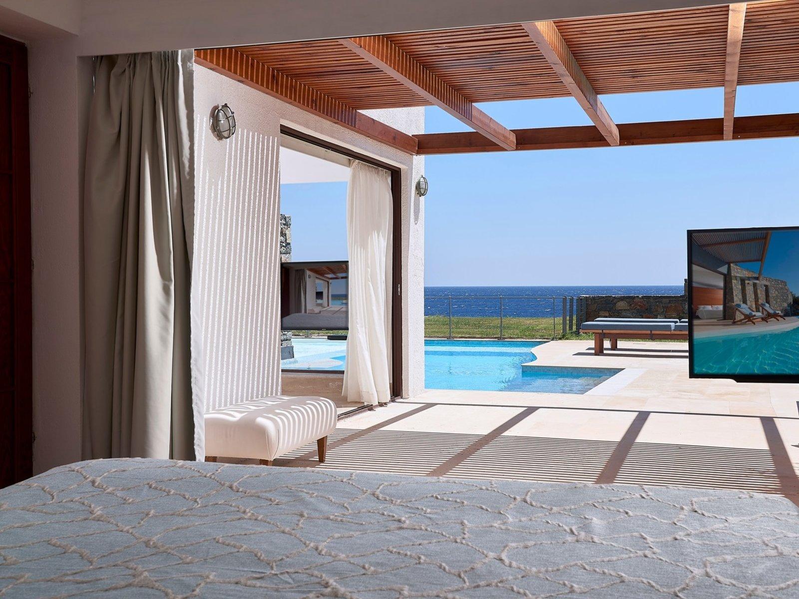 Wohnbeispiel Club - One Bedroom Suite Seaview Private Pool