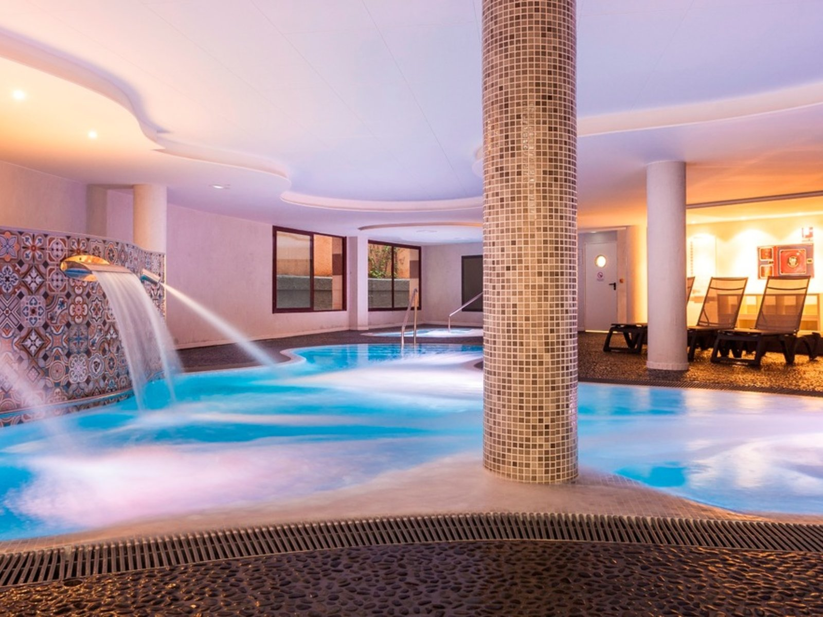 Spa Indoorpool Area A