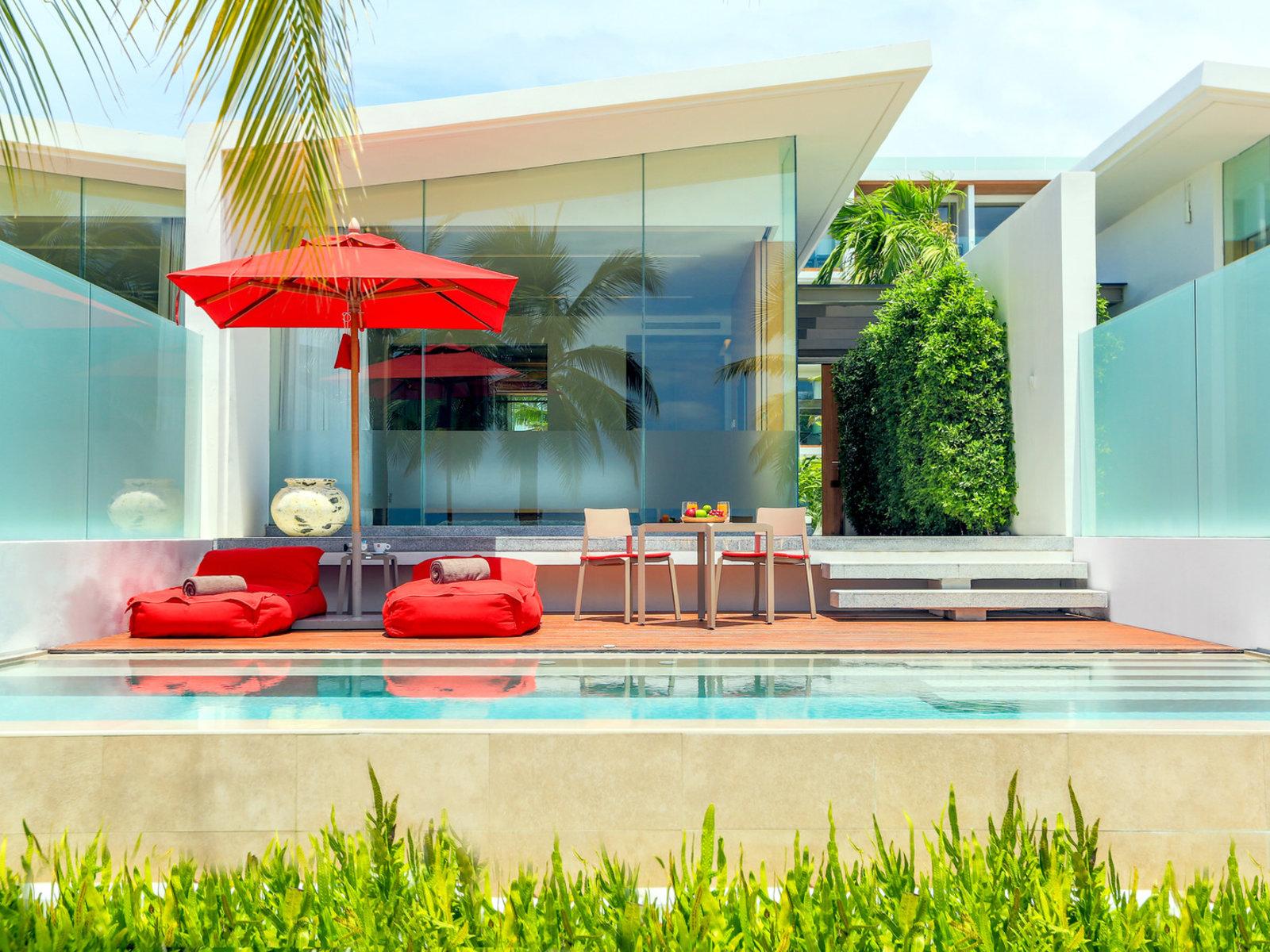 Wohnbeispiel Beach Pool Villa