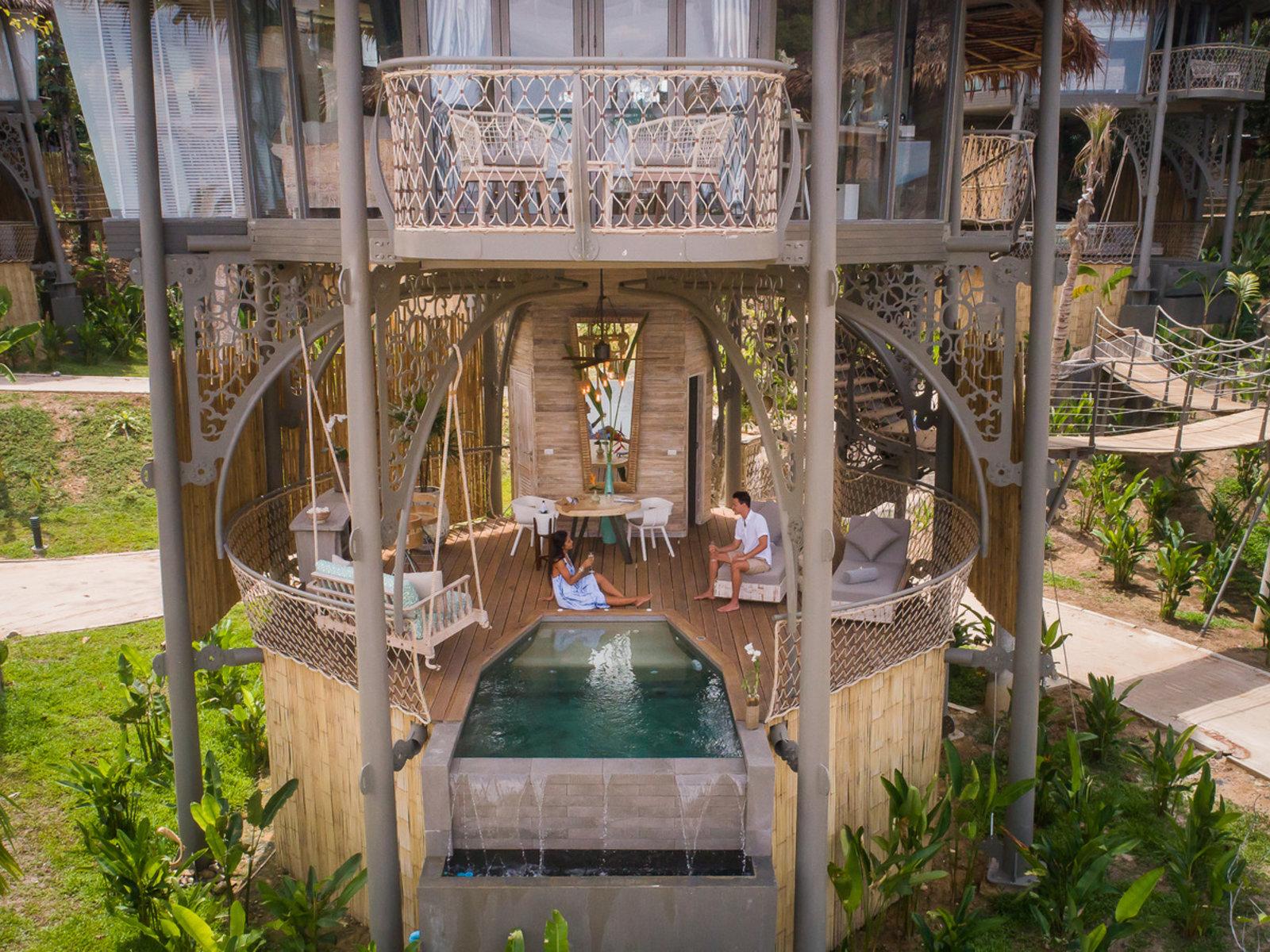 Wohnbeispiel TreeHouse Villa