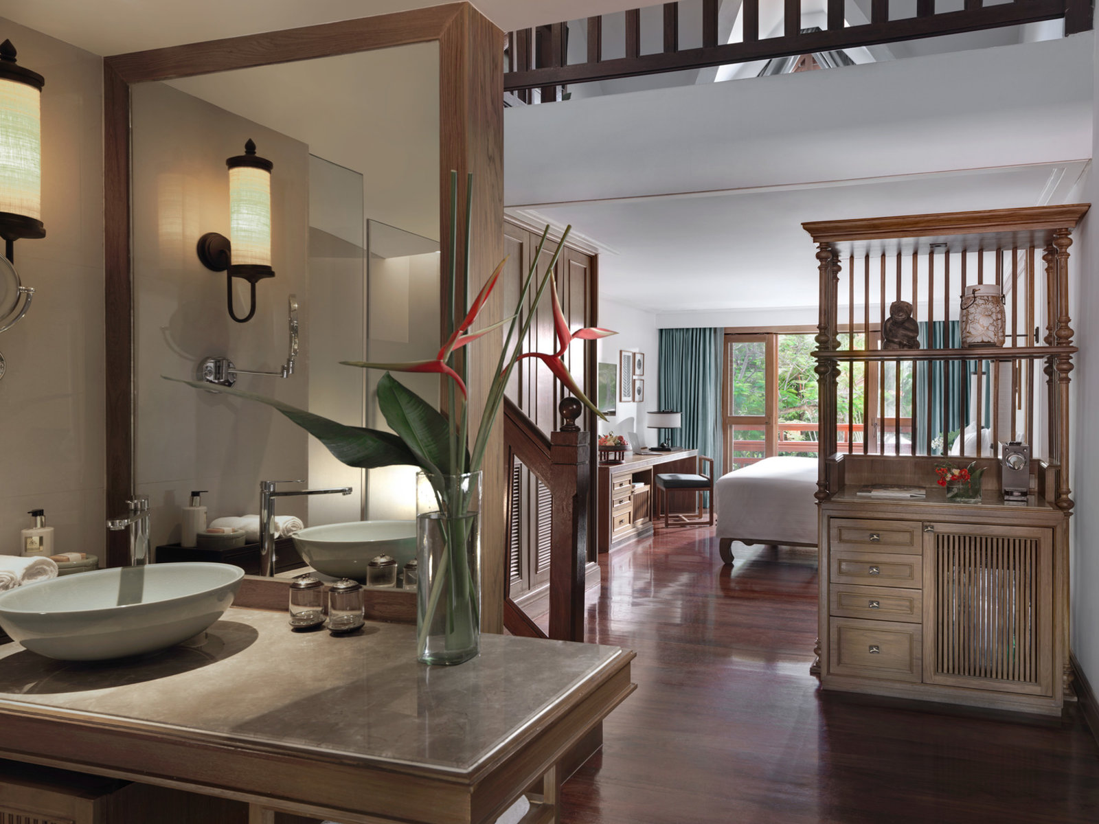 Wohnbeispiel One Bedroom Duplex Suite