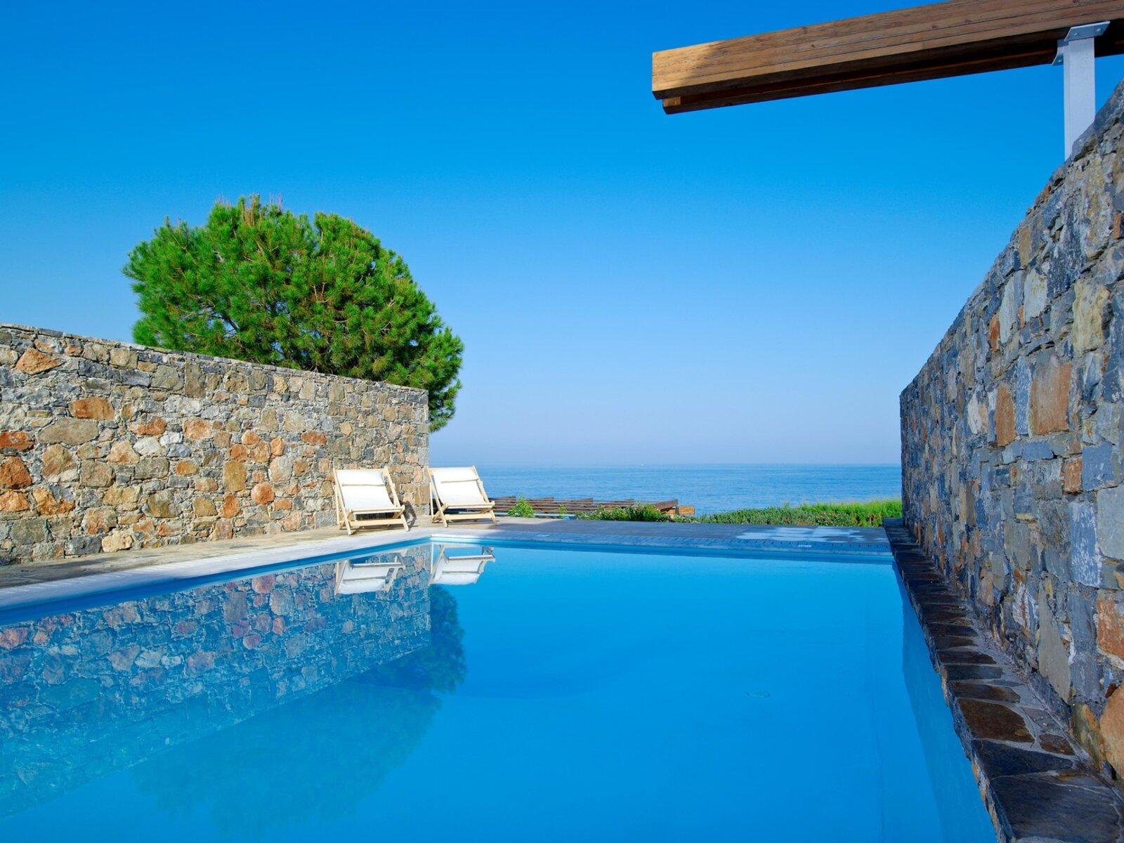 Wohnbeispiel 2 Bedroom Club Suite Sea View Private Pool