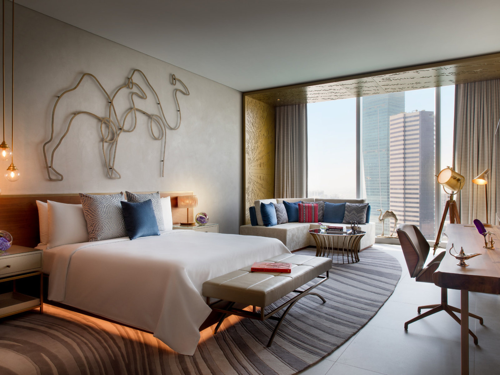 Wohnbeispiel Deluxe Room Dubai Canal View
