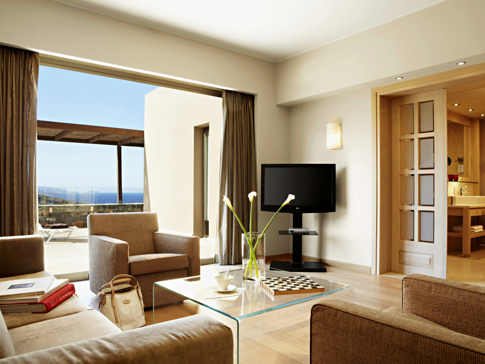 Wohnbeispiel One Bedroom Suite Seaview
