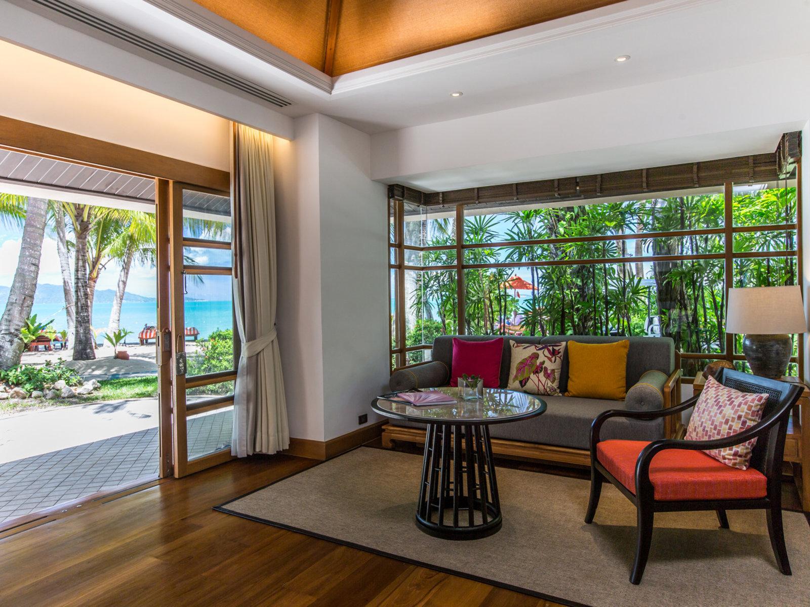 Wohnbeispiel Deluxe Beachfront Villa Plunge Pool