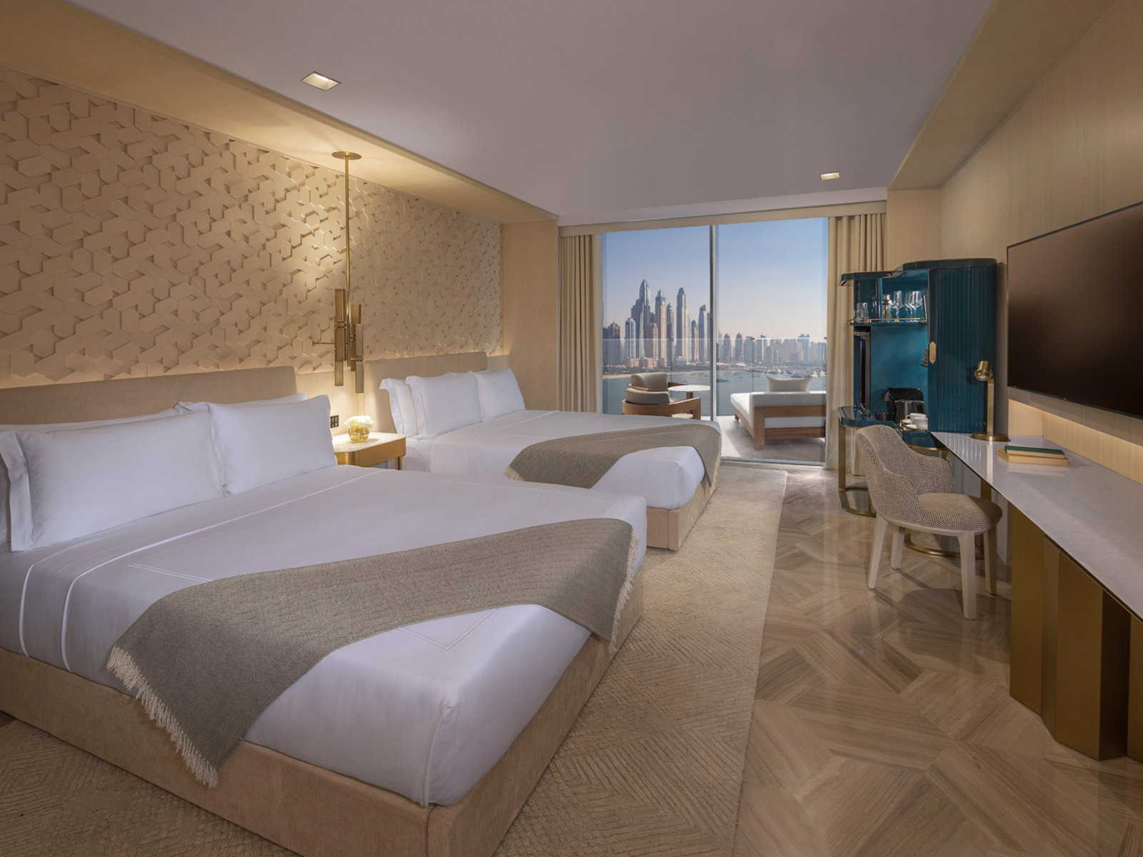 Wohnbeispiel Luxe Sea Double Queen Room