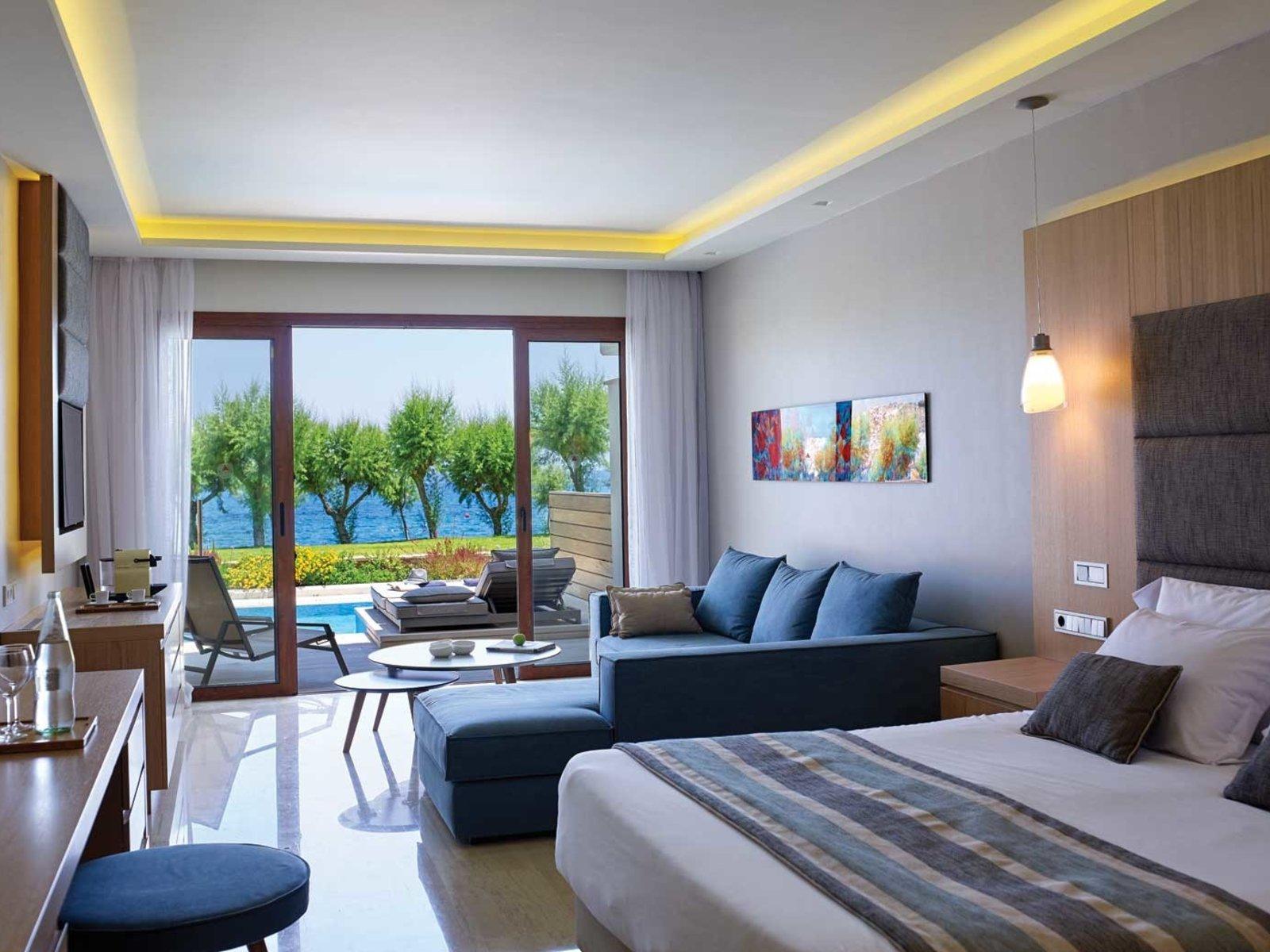 Wohnbeispiel Junior Suite Beach Front - Red Carpet room type