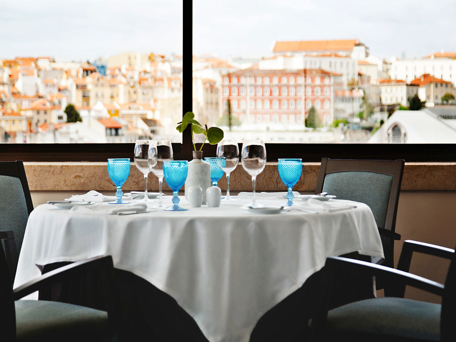 Panorama restaurant Varanda de Lisboa