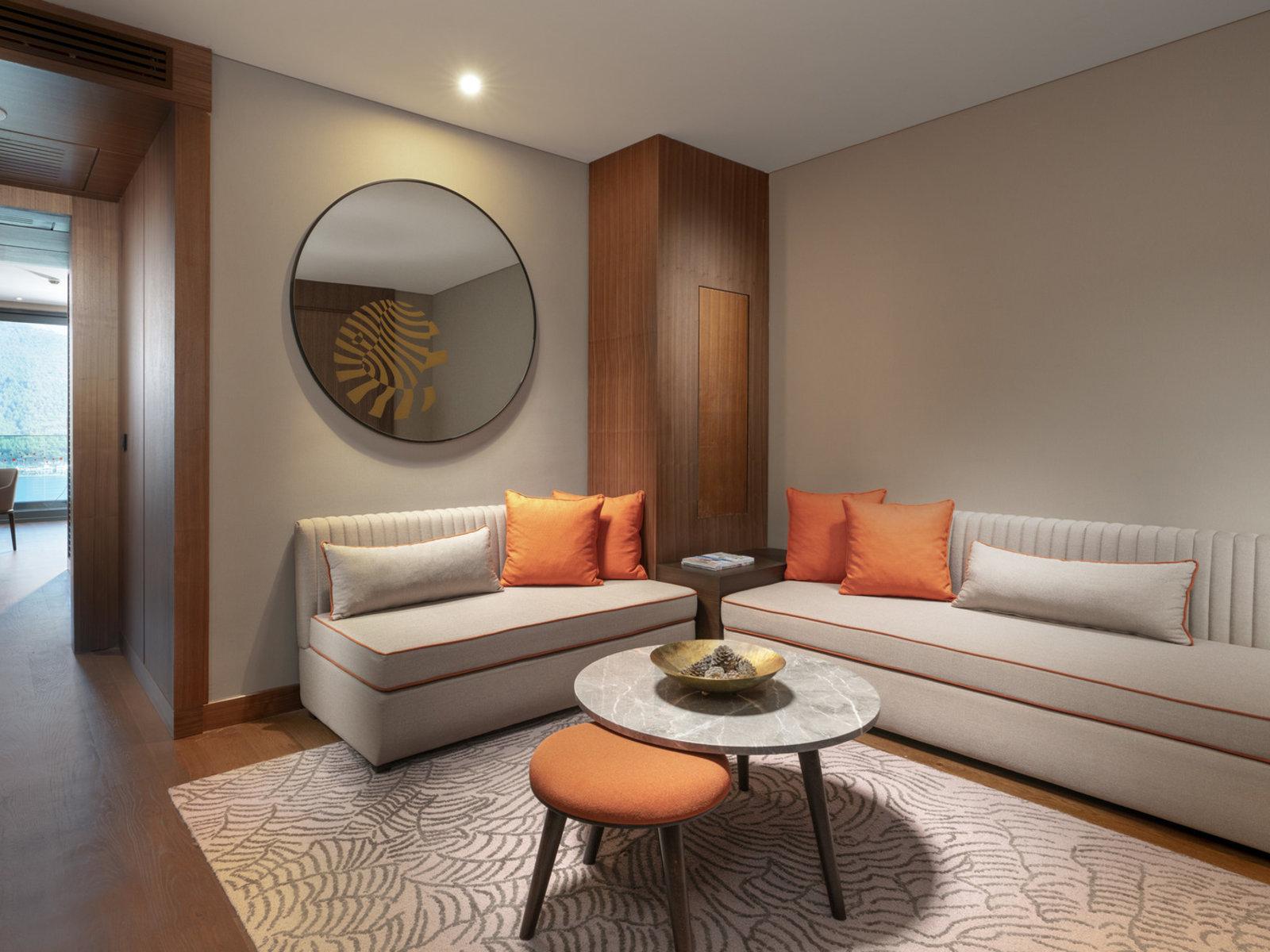 Wohnbeispiel Family Corner Suite Partly Seaview