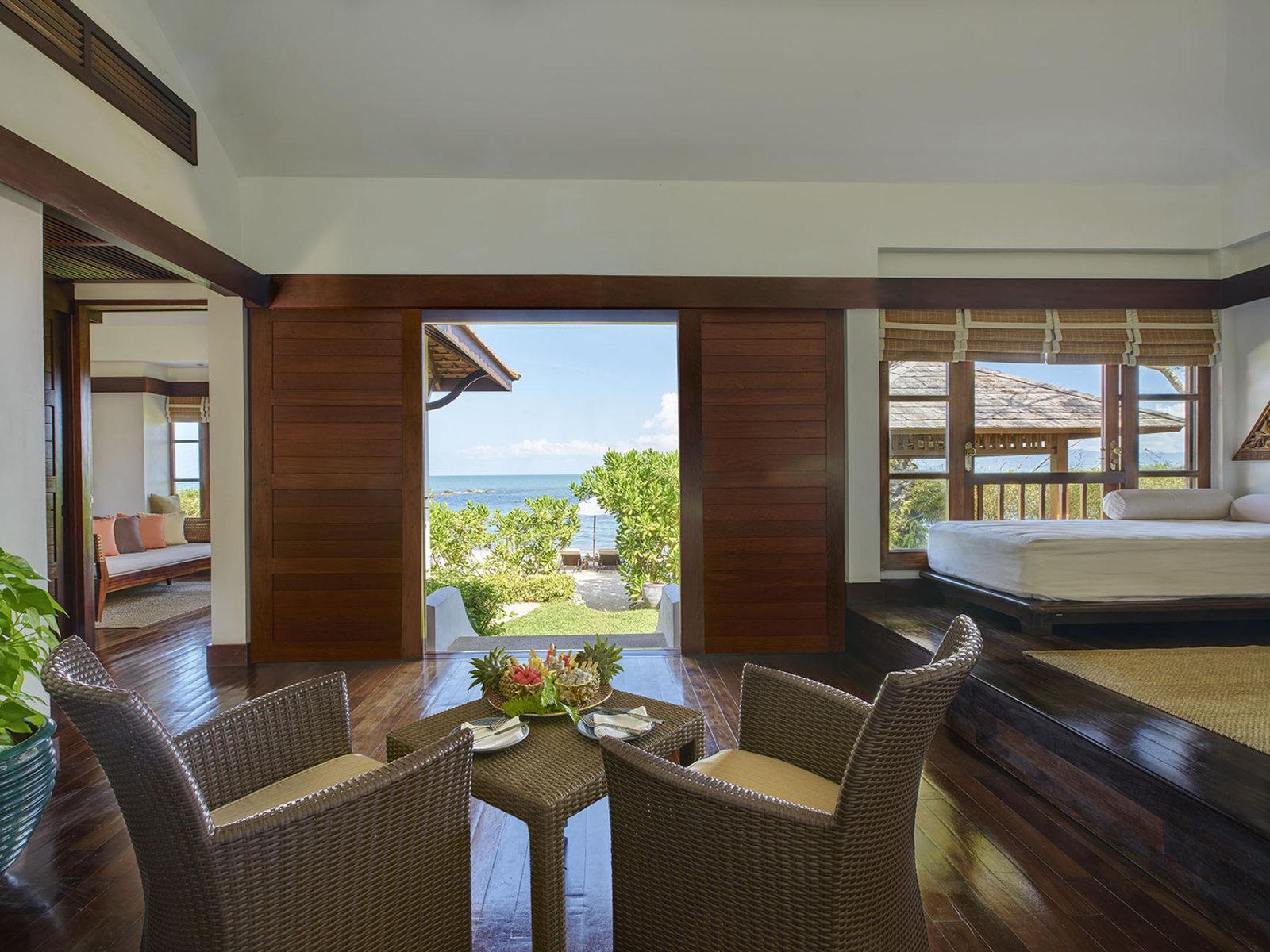 Wohnbeispiel One Bedroom Beachfront Villa