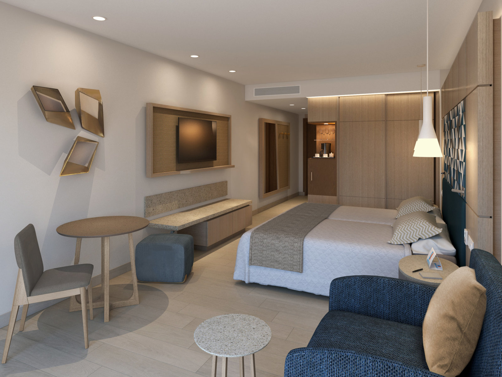 Wohnbeispiel Doppelzimmer Best Price Typ1(Modellbild)