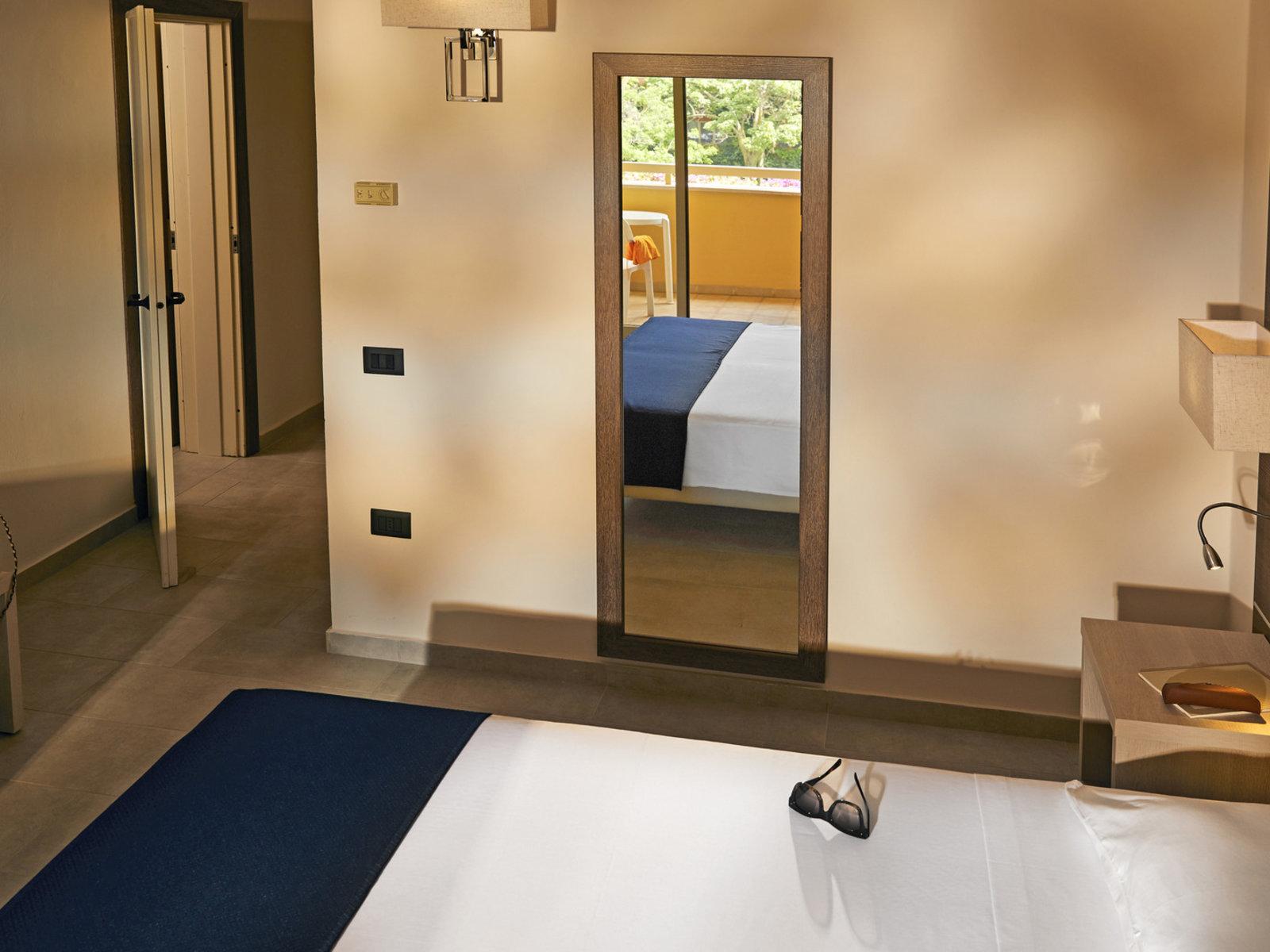 Wohnbeispiel 2 Doppelzimmer mit Verbindungstür