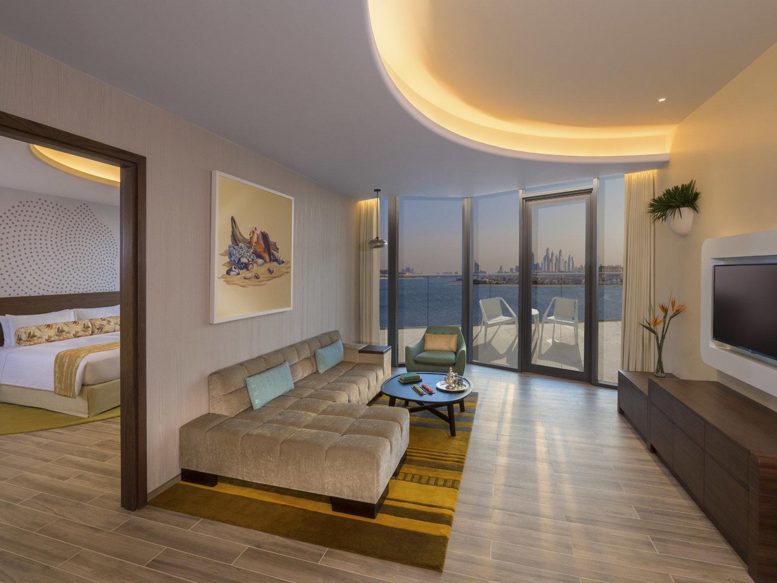 Wohnbeispiel One Bedroom Suite Palm View