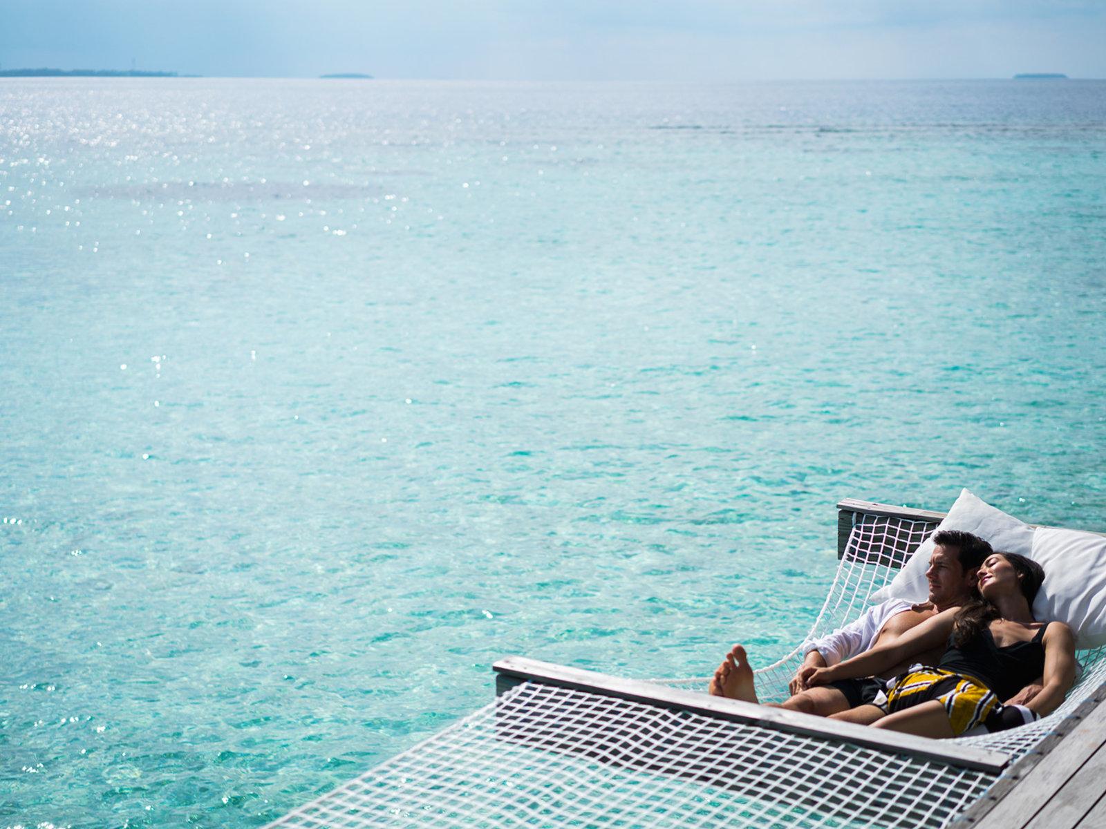 Wohnbeispiel Honeymoon/Anniversary Over Water Pool Villa
