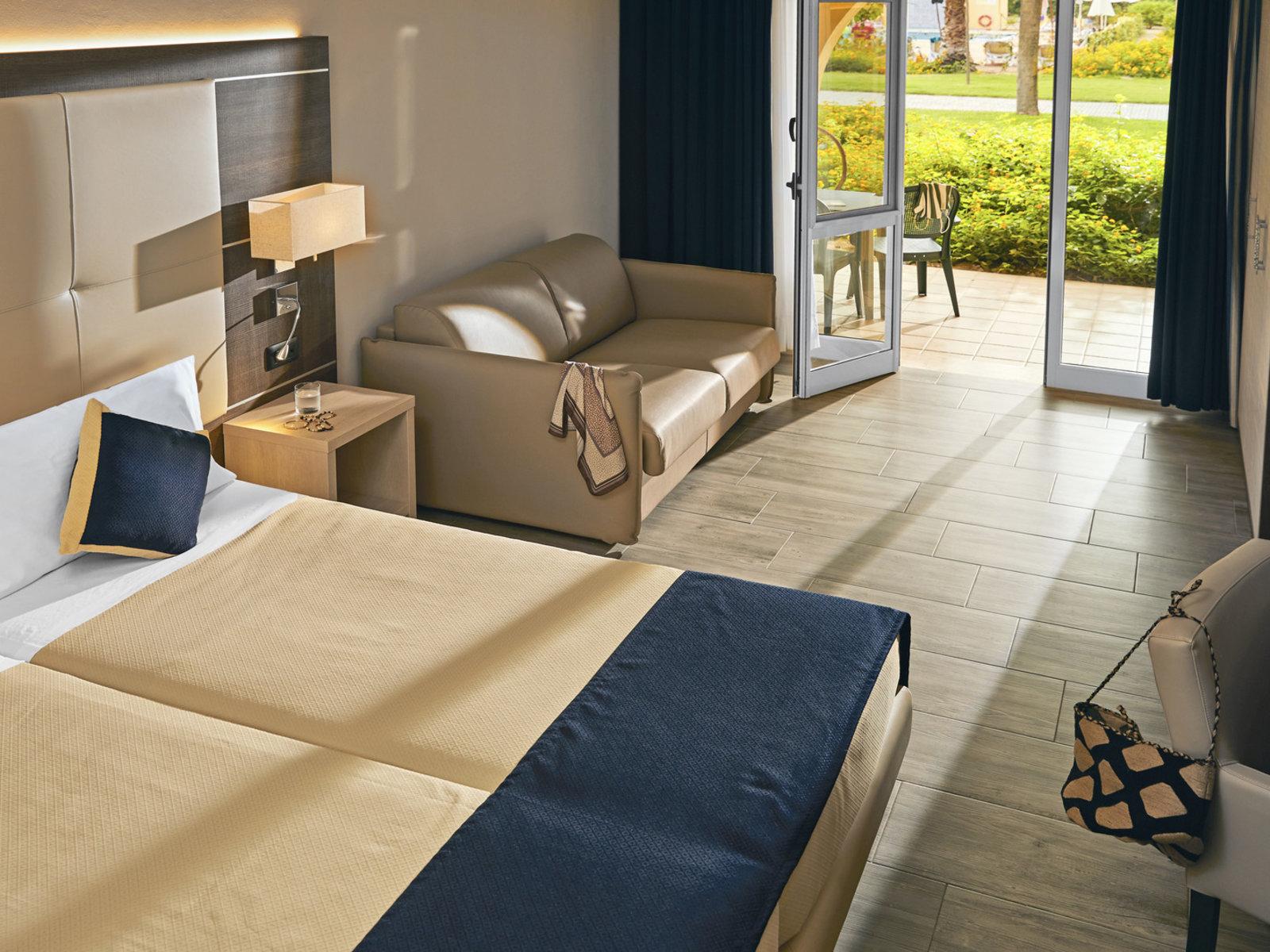 Wohnbeispiel Doppelzimmer Private Lodge