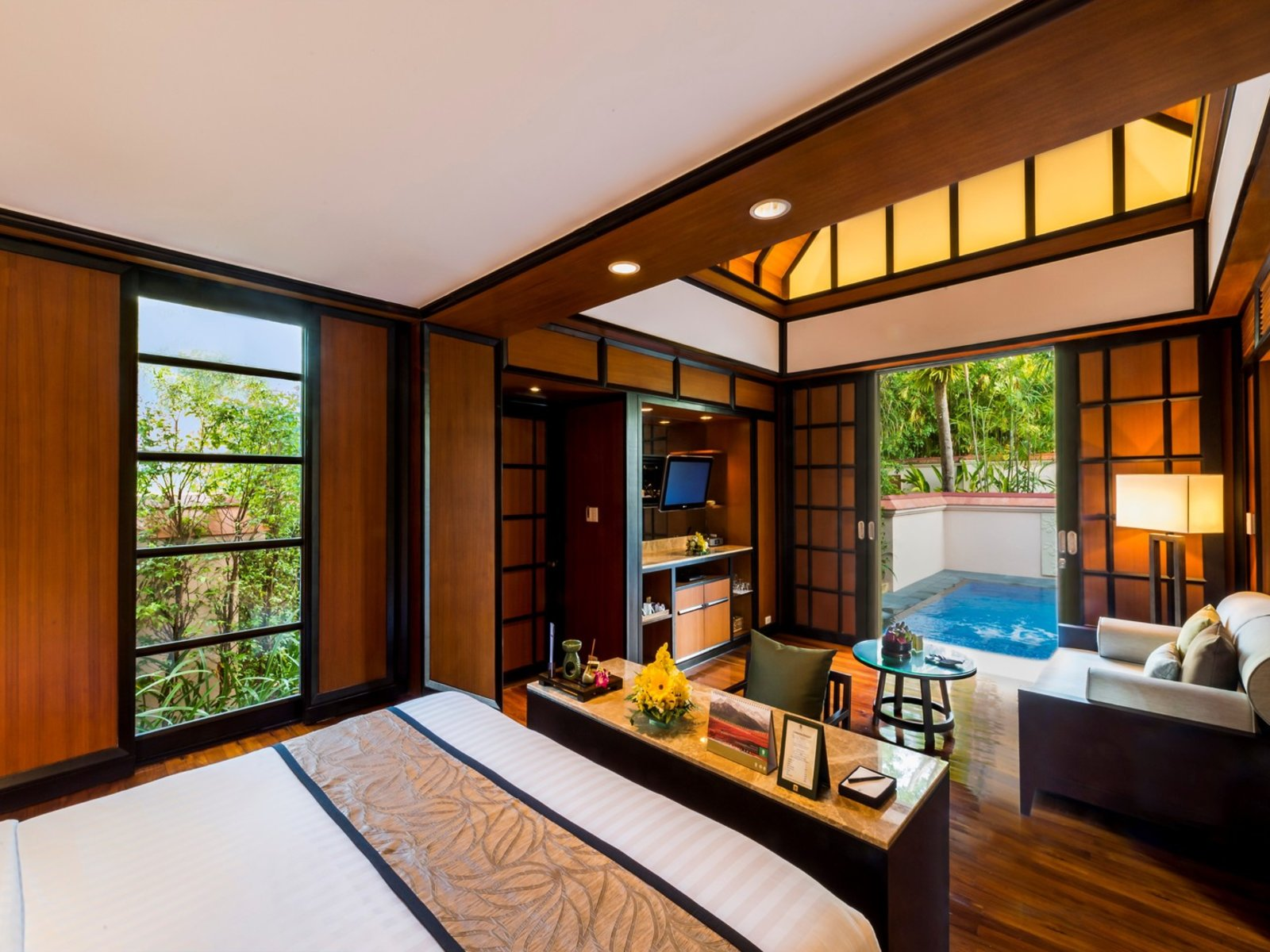 Wohnbeispiel Banyan Pool Villa