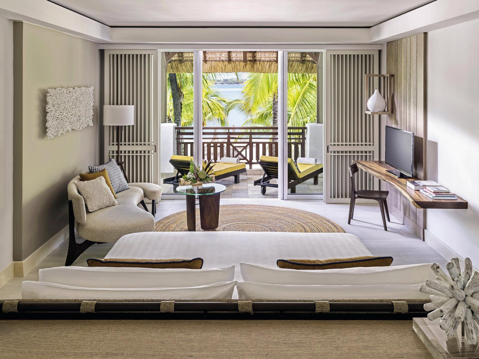 Wohnbeispiel Frangipani Island One-Bedroom Suite Beach Access