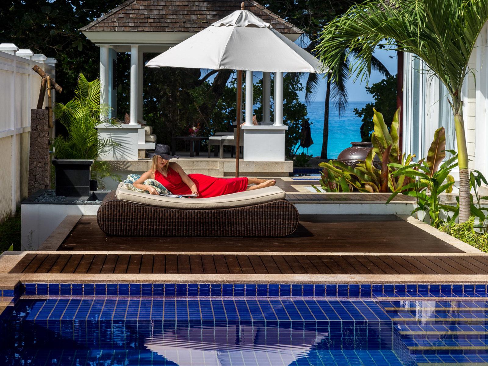Wohnbeispiel Two Bedroom Double Pool Villa