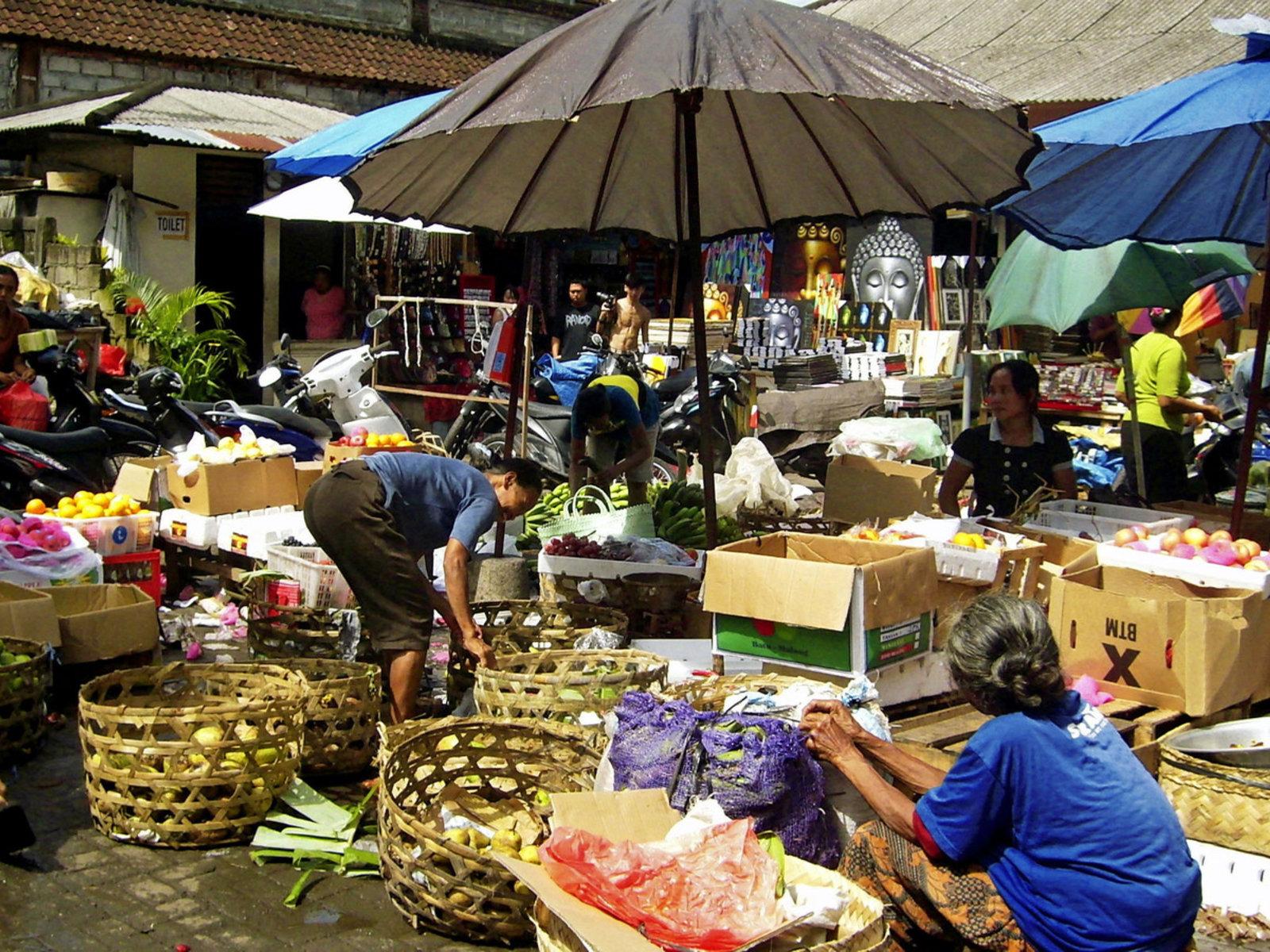 Markt, Ubud