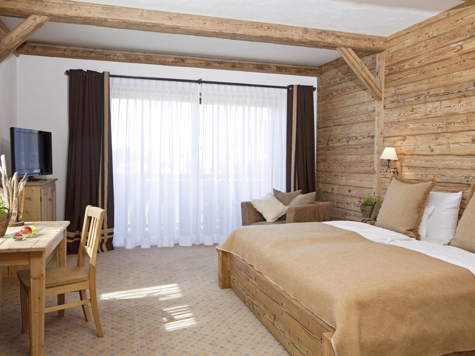 Wohnbeispiel Doppelzimmer Rotspitz