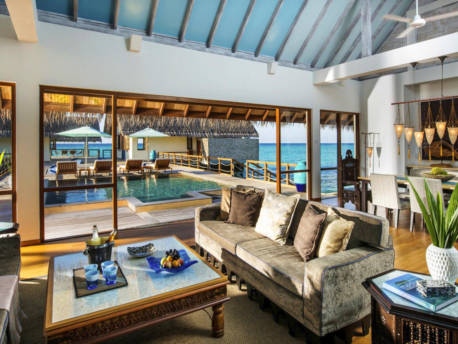 Wohnbeispiel Three Bedroom Land  Ocean Suite
