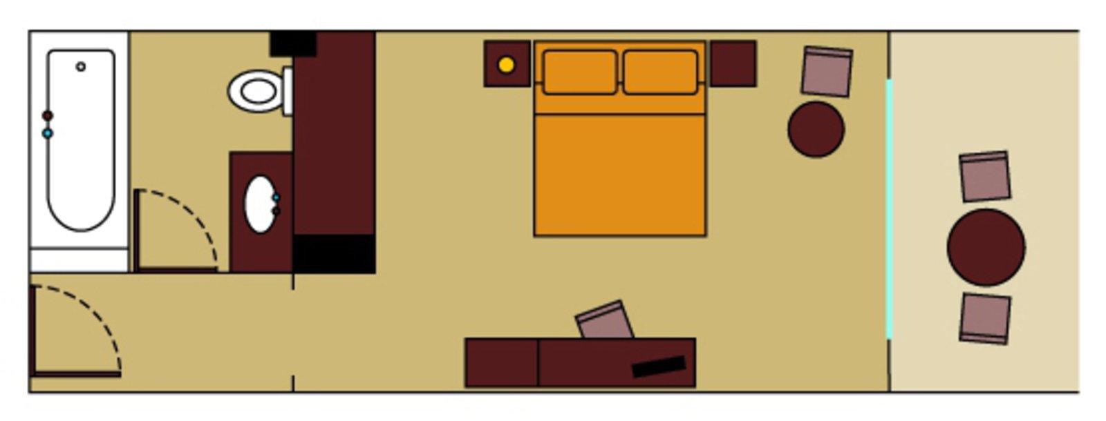 Zimmerskizze