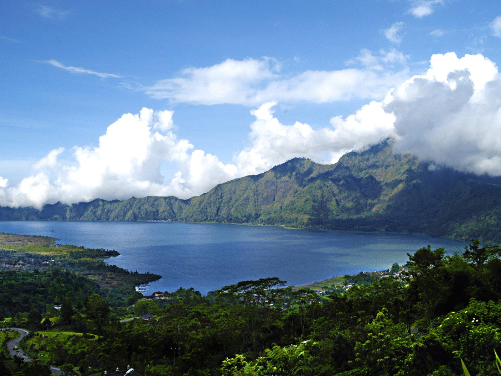 Blick auf den Mount Batur von Kintamani, ©Visit Indonesia Tourism