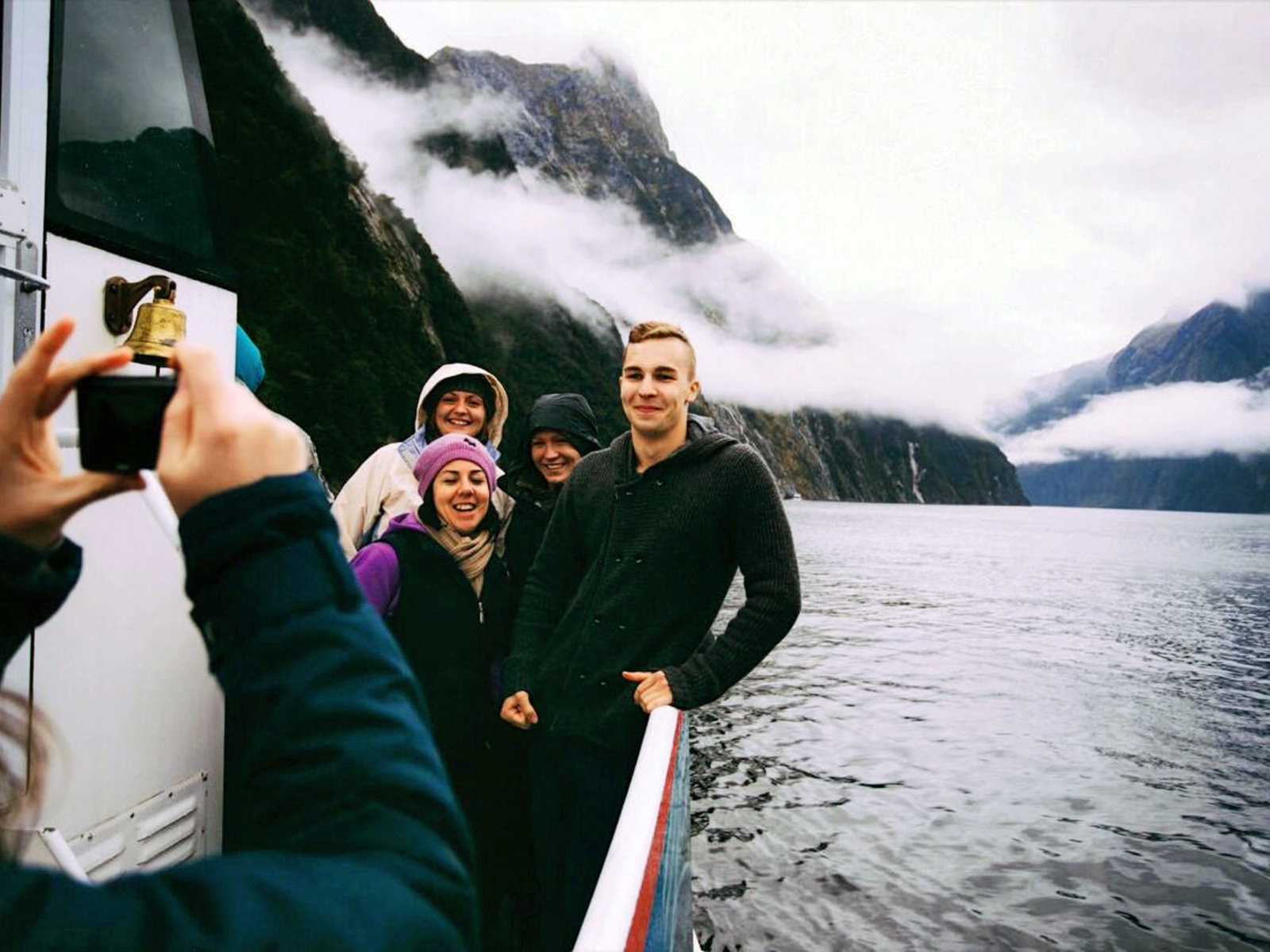 Schiffstour im Milford Sound