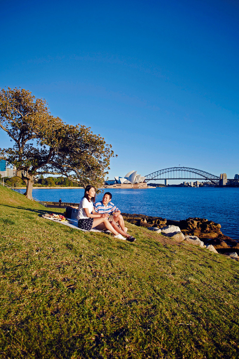 Sydney, Mrs. Macquarries Chair © Tourism Australia