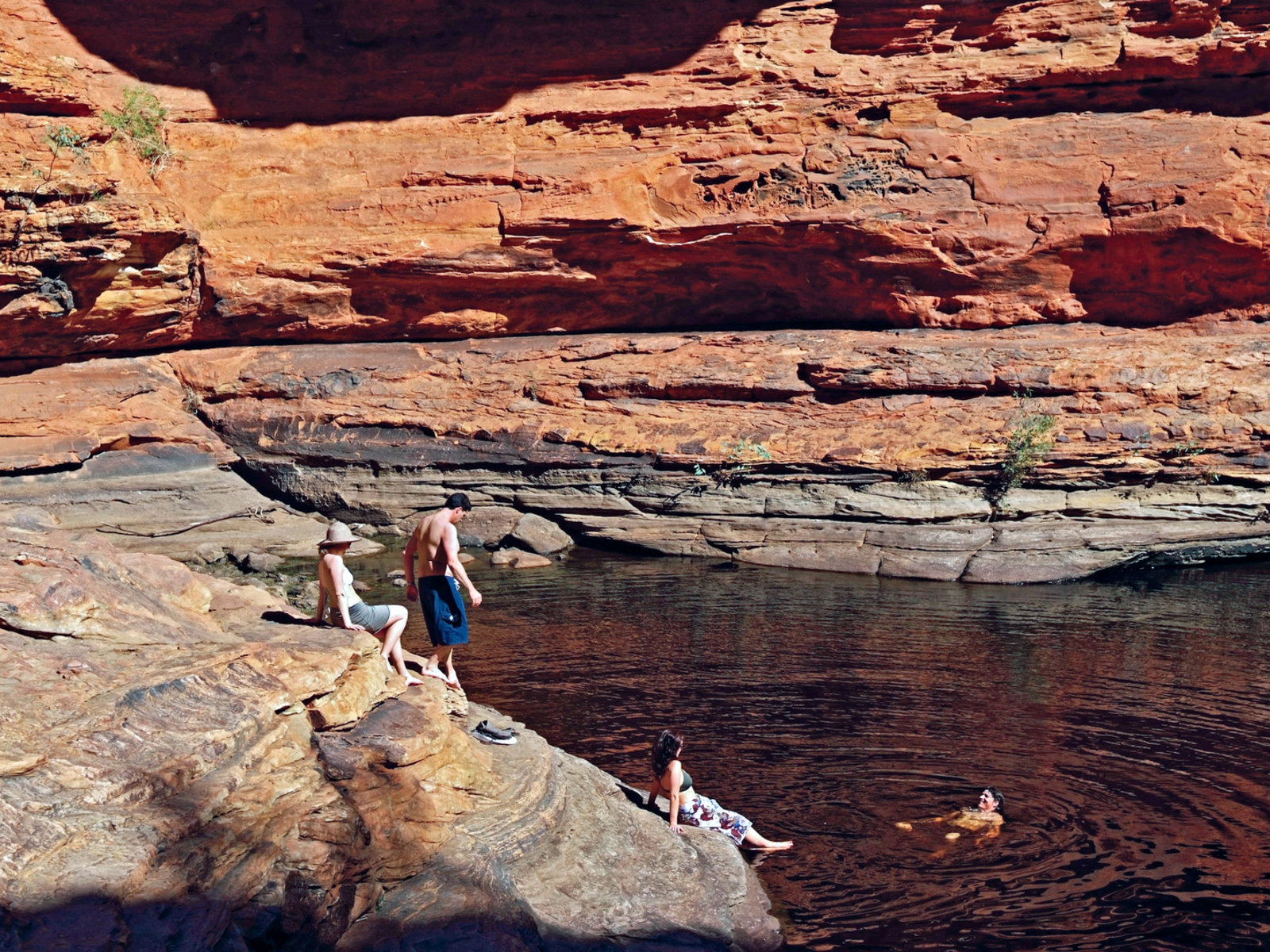 Kings Canyon ©Tourism Australia