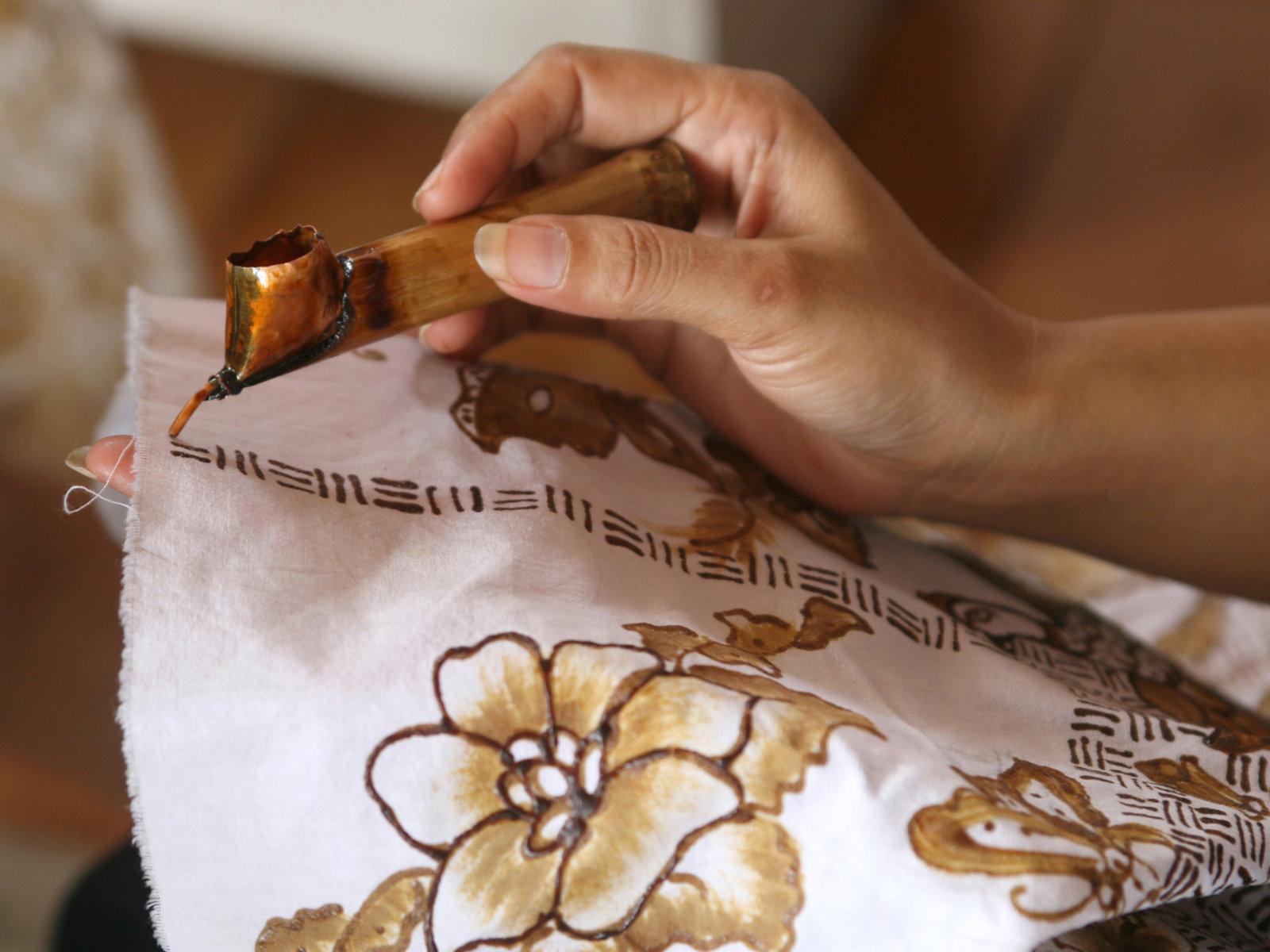 Batik Malerei