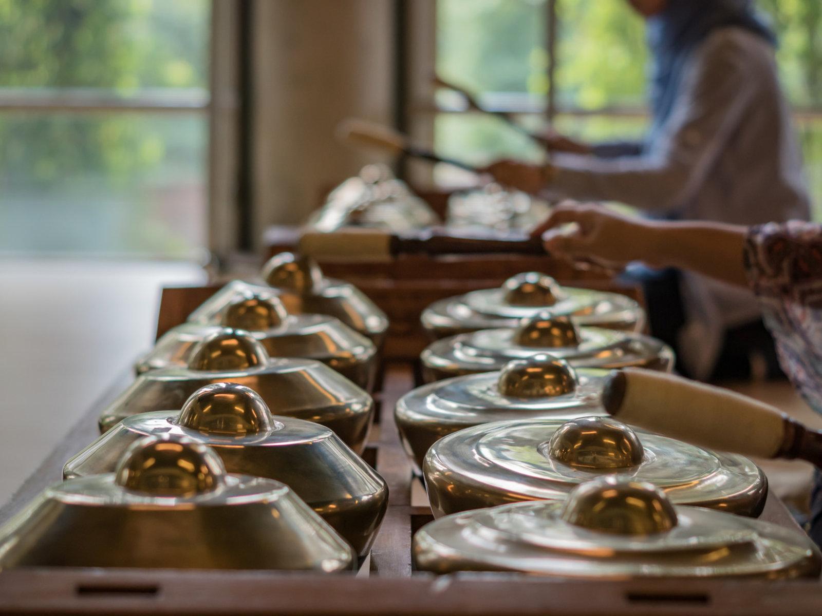 Gamelan Musikinstrumente