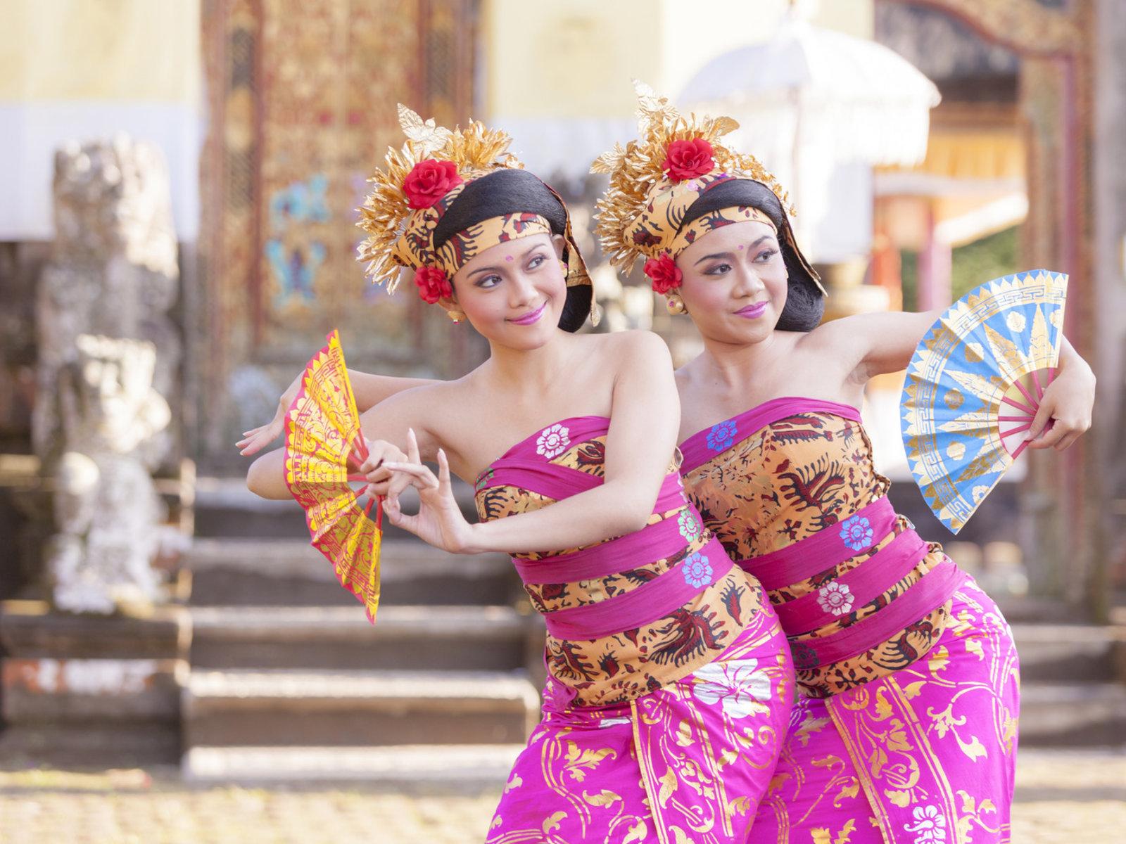 traditioneller indonesischer Tanz