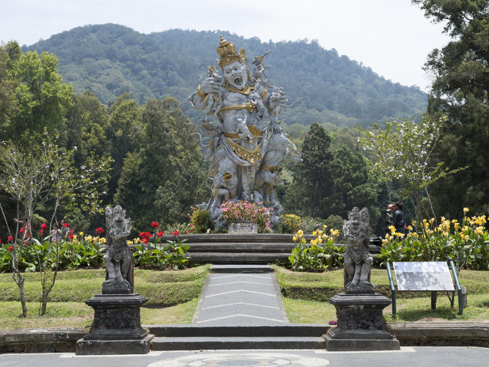 Botanischer Garten Bedugul, Hindu Statue