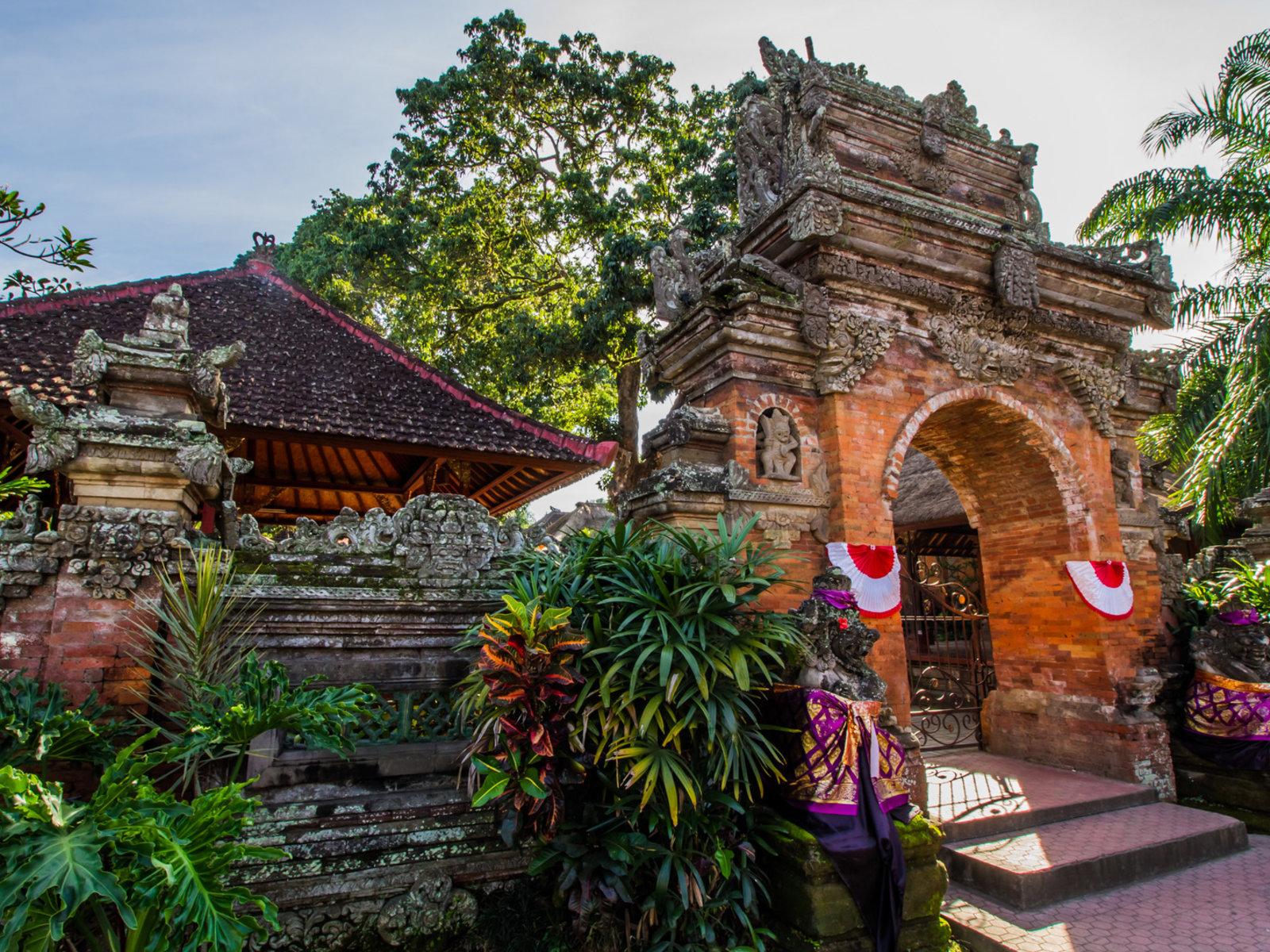 Ubud, Puri Saren Palast