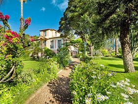 Cais da oliveira canico canico de baixo madeira gunstig for Katzennetz balkon mit quinta splendida wellness botanical garden madeira