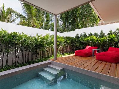 Wohnbeispiel Deluxe Plunge Pool Suite