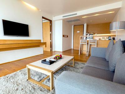 Wohnbeispiel Deluxe Sea View Suite