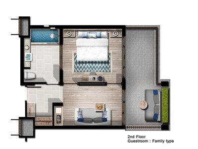 Wohnbeispiel Deluxe Suite