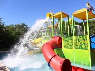 Explorer's Club Water Playground