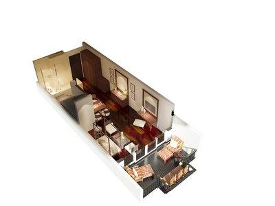 Wohnbeispiel Duplex Suite