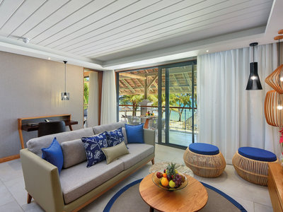 Wohnbeispiel Honeymoon/Anniversary: Ocean Beachfront Suite