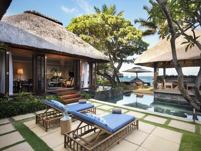 Wohnbeispiel Beachfront Pool Villa 2 Bedroom