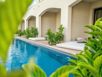 Wohnbeispiel Double Swim Up Garden View