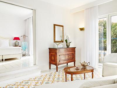 Wohnbeispiel Luxury bungalow suite garden view