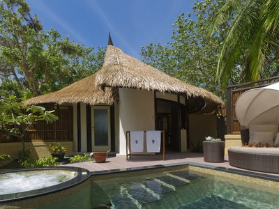 Wohnbeispiel Spa Sanctuary Pool Villa