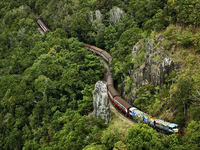Zugfahrt nach Kuranda